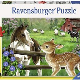Ravensburger New Neighbors 60 Piece Jigsaw Puzzle for Kids – Every Piece is Unique, Pieces Fit ... | Amazon (US)