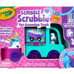 Crayola Scribble Scrubbie Grooming Truck 10 Piece Set Boys and Girls Ages 3+ | Walmart (US)