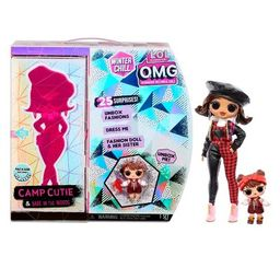 L.O.L. Surprise! O.M.G. Winter Chill Camp Cutie Fashion Doll & Babe in the Woods Doll with 25 Sur... | Target