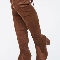 Over-the-Knee Sock Boots | Forever 21 (US)