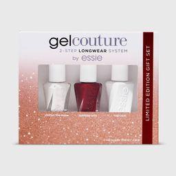 essie Gel Couture Mini Nail Polish Gift Set - 3pc   Target