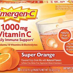 Emergen-C 1000mg Vitamin C Powder, with Antioxidants, B Vitamins and Electrolytes, Vitamin C Supp...   Amazon (US)