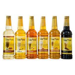 Jordan's Skinny Syrups™ 6-Pack Classic Gourmet Syrup Sampler | Bed Bath & Beyond
