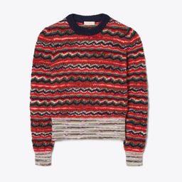 Lurex Stripe Sweater | Tory Burch (US)