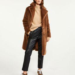 Faux Fur Coat   Ann Taylor   Ann Taylor (US)
