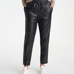 The Faux Leather Pull On Ankle Pant   Ann Taylor   Ann Taylor (US)