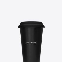 coffee mug in ceramic   Saint Laurent