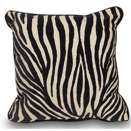 Mozambique Accent Throw Pillow Ebern Designs Color: Black / Tan | Wayfair North America