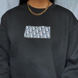 Vintage Custom Dior Sweatshirt Unisex | Etsy (US)