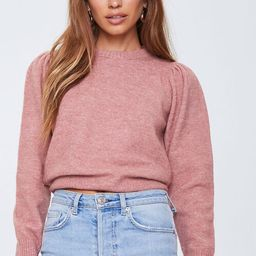 Ribbed-Trim Sweater   Forever 21 (US)