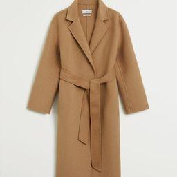 Handmade wool coat   MANGO (US)