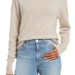 Cashmere Boyfriend Turtleneck Sweater | Nordstrom