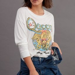 Queen Cropped Graphic Tee | Anthropologie (US)