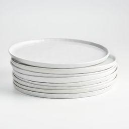Set of 8 Mercer Dinner Plates + Reviews | Crate and Barrel | Crate & Barrel