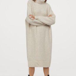 Knit Turtleneck Dress | H&M (US)