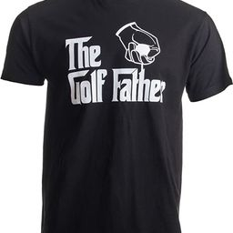 The Golf Father   Funny Saying Golfing Shirt, Golfer Ball Humor for Men T-Shirt   Amazon (US)