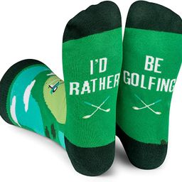 Lavley - I'd Rather Be - Funny Socks For Men and Women (Golfing Fishing Hunting Camping Racing Fo...   Amazon (US)