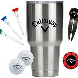 Callaway 30 oz Tumbler Gift Set   Amazon (US)