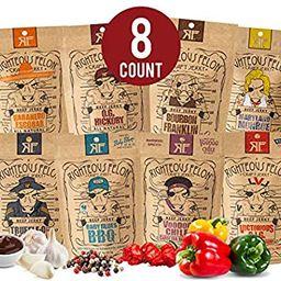 Righteous Felon Beef Jerky Bundle - Variety Beef Jerky Set - All Natural Craft Beef Jerky - High-...   Amazon (US)