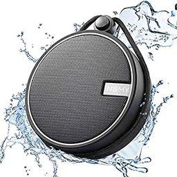 INSMY IPX7 Waterproof Shower Bluetooth Speaker, Portable Wireless Outdoor Speaker with HD Sound, ...   Amazon (US)