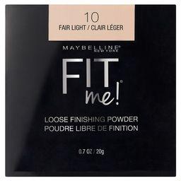 Maybelline Fit Me Loose Powder - 10 Fair Light - 0.7oz | Target