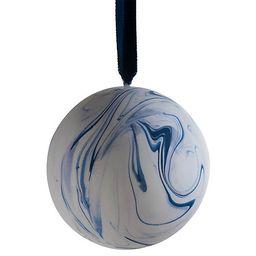 Marble Patterned Ornament - Blue - Joanna Buchanan | One Kings Lane