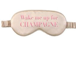 DREAMER EYE MASK -Wake Up Champagne   Los Angeles Trading Co