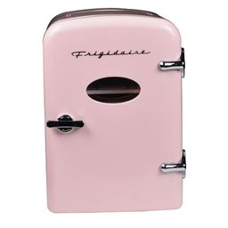 Frigidaire 0.3 cu. ft. 6-Can Retro Mini Fridge in Pink-EFMIS129-PINK - The Home Depot | The Home Depot