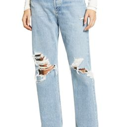 '90s Ripped Loose Fit Jeans | Nordstrom