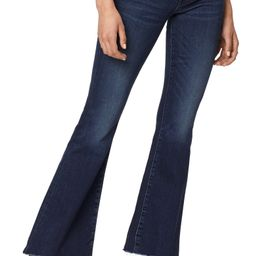 MOTHER The Weekend High Waist Fray Hem Flare Jeans (Tongue & Chic) | Nordstrom | Nordstrom