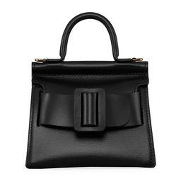 Boyy Women's Karl Surreal Leather Top Handle Bag - Black | Saks Fifth Avenue