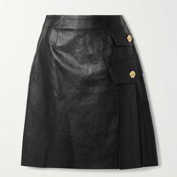Proenza Schouler - Pleated Leather Skirt - Black | Net-a-Porter (US)
