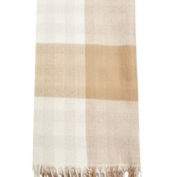 Topshop Double-Face Check Scarf | Nordstrom | Nordstrom