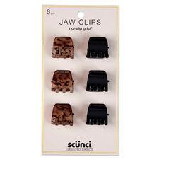 scunci 2cm No Slip Jaw Clips - 6pk   Target