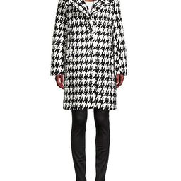Houndstooth Faux Fur Coat | Saks Fifth Avenue OFF 5TH