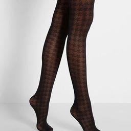 Sensibility for Savoir Faire Tights - Statement - Size OS | Modcloth