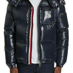 Details about  Amazing Condition $1600 Montbeliard Giubbotto Stripe Puffer Coat Sz 6   eBay US