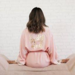 Lace Bridesmaid Robe | Bridal Bride Party Robes Gift Ideas Cotton | Eb3184Bpw | Etsy (US)
