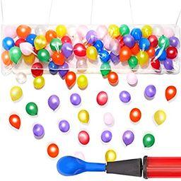 Blue Panda Balloon Bag Drop Party Kit with 80 Balloons, 1 Pump | Amazon (US)