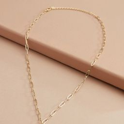 Dylan Paper Clip Pendant Necklace | Evereve