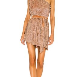 retrofete Ella Dress in Metallic Bronze. - size L (also in XS, S, M)   Revolve Clothing (Global)