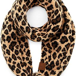 Solid and Multi Color Cable Knit Soft Infinity Scarf (SF-800)(SF-6242)(SF-800) | Amazon (US)