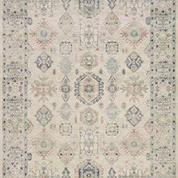 "Loloi II Hathaway Collection HTH-04 Beige / Multi, Traditional Area Rug, 9'-0"" x 12'-0""   Amazon (US)"