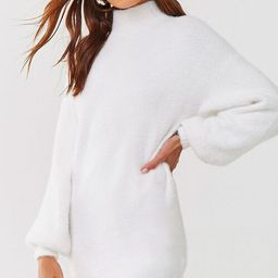 Fuzzy Knit Sweater Dress   Forever 21 (US)