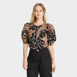 Women's Puff Elbow Sleeve Top - Who What Wear™ | Target