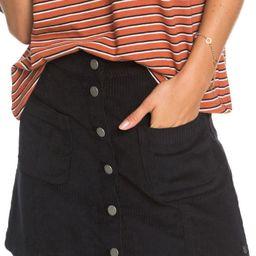 Roxy Warning Sign Corduroy Miniskirt | Nordstrom | Nordstrom