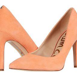 Sam Edelman Hazel (Cantaloupe Suede Leather) Women's Shoes | Zappos