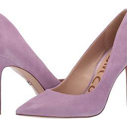 Sam Edelman Hazel (Purple Jam Suede Leather) Women's Shoes | Zappos