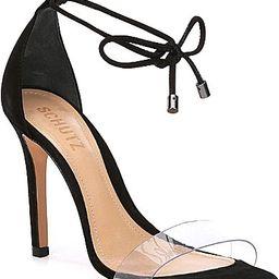Schutz Josseana Suede Dress Sandals - 9M   Dillards