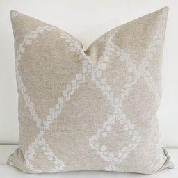 Boho Linen - Beige Pillow Cover, Mud Cloth Pillow Cover, Designer Pillow Cover, Decorative Pillow... | Etsy (US)